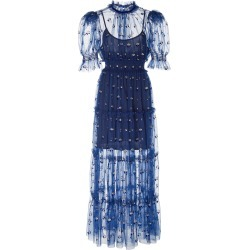 Alice McCall Cowboy Tears Flocked Tulle Midi Dress found on MODAPINS from Moda Operandi for USD $275.00