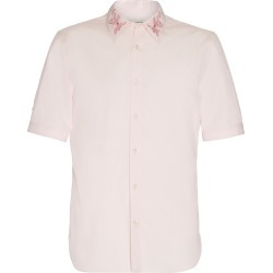 Alexander McQueen Floral-Embroidered Cotton-Poplin Shirt found on MODAPINS from Moda Operandi for USD $690.00