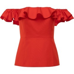 Huishan Zhang Rani Cotton-Blend Off-The-Shoulder Top found on MODAPINS from Moda Operandi for USD $1065.00