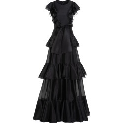 Huishan Zhang Liberty Tiered Taffeta Gown found on MODAPINS from Moda Operandi for USD $3620.00