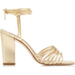 Aeyde Daisy Leather Sandals found on MODAPINS from Moda Operandi for USD $280.00