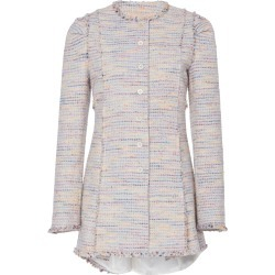 Brock Collection Paoli Pleated Tweed Jacket found on MODAPINS from Moda Operandi for USD $1070.00