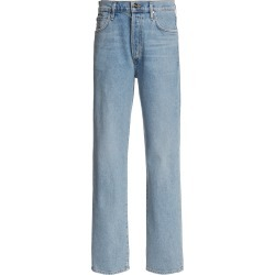 Goldsign The Benefit Stretch High-Rise Straight-Leg Jeans found on MODAPINS from Moda Operandi for USD $325.00