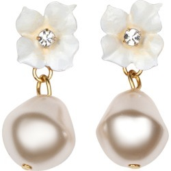 Jennifer Behr Solddad Pearl Drop Earrings found on MODAPINS from Moda Operandi for USD $200.00