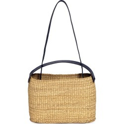 Inès Bressand Dual-Handle Straw Shoulder Bag found on MODAPINS from Moda Operandi for USD $305.00
