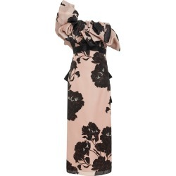Johanna Ortiz Exclusive Prodigious Silk Floral Dress