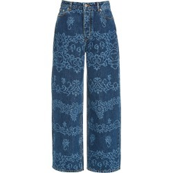 Ganni Laser Denim Denim found on Bargain Bro Philippines from Moda Operandi for $395.00