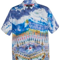 Amiri Tie Dye Silk Top found on MODAPINS from Moda Operandi for USD $654.00