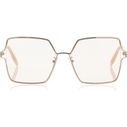 Alexander McQueen Oversize Square Sunglasses found on MODAPINS from Moda Operandi for USD $470.00
