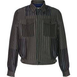 Alexander McQueen Striped Cotton-Blend Jacket found on MODAPINS from Moda Operandi for USD $2290.00