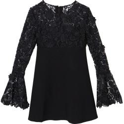 Carolina Herrera Lace-Inset Crepe Mini Dress found on Bargain Bro Philippines from Moda Operandi for $1990.00