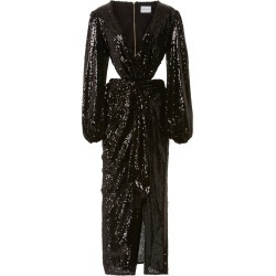 Alice McCall Electric Orchid Sequined-Chiffon Gown found on MODAPINS from Moda Operandi for USD $298.00