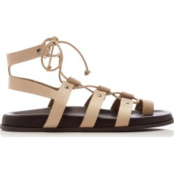 Bassike Lace-Up Suede Sandals found on MODAPINS from Moda Operandi for USD $342.00
