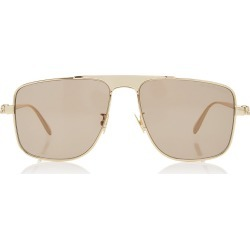 Alexander McQueen Sunglasses Aviator-Style Metal Sunglasses found on MODAPINS from Moda Operandi for USD $190.00