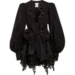 Acler Vicount Tie-Front Cotton Broderie-Anglaise Dress found on MODAPINS from Moda Operandi for USD $298.00