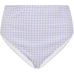 Ganni Gingham Seersucker Bikini Briefs found on Bargain Bro Philippines from Moda Operandi for $20.00