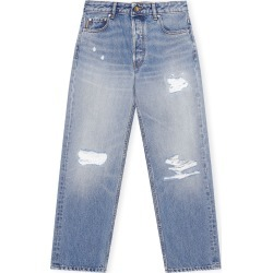 Ganni Overwashed Denim Relaxed Fit Jeans found on Bargain Bro Philippines from Moda Operandi for $265.00