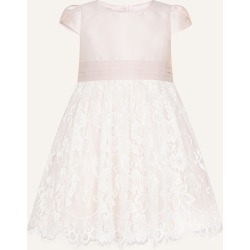 Monsoon Pink Elegant Baby Lace Skirt Bridesmaid Dress, in Size: 2-3 Years found on MODAPINS from Monsoon for USD $54.42