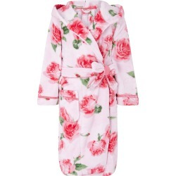 Chunky Rose Print Robe with Recycled Polyester Pink found on Bargain Bro UK from Monsoon