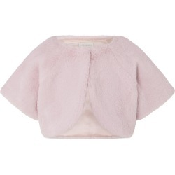 Faux Fur Shrug Pink found on Bargain Bro UK from Monsoon
