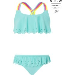 Lily Colourful Strap Bikini with Recycled Polyester Blue found on MODAPINS from Monsoon for USD $20.67