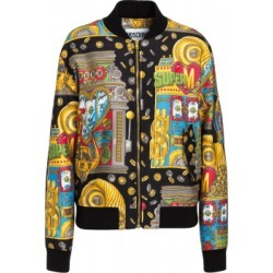 Moschino Slot Machine Bomber Woman Multicoloured Size 44 It - (10 Us)