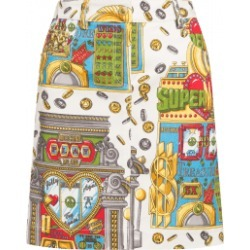 Moschino Slot Machine Miniskirt Woman Multicoloured Size 42 It - (8 Us)