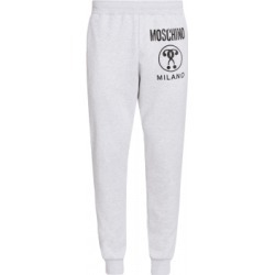 Moschino Cotton Jogging With Double Question Mark Logo Man Grey Size 54 It - (38 Us) found on Bargain Bro India from Moschino for $175.00