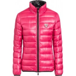 Love Moschino Reversible Nylon Down Jacket Woman Pink Size 46 It - (12 Us)
