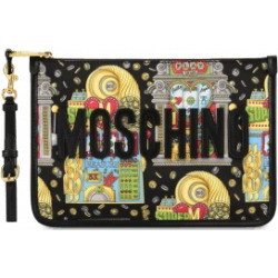 Moschino Slot Machine Clutch Woman Black Size U It - (one Size Us)