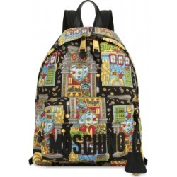 Moschino Slot Machine All Over Backpack Woman Multicoloured Size U It - (one Size Us)