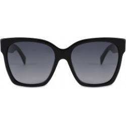 Moschino Metal Studs Acetate Sunglasses Woman Black Size Single Size found on Bargain Bro India from Moschino for $240.00
