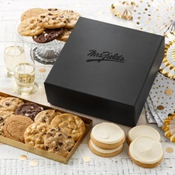 The Black Box 12 Original Cookies; 4 Frosted Cookies & More.