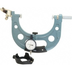 Mitutoyo 5 to 6 Inch, Snap Gage 0.0001 Inch Graduation, Dial Disp