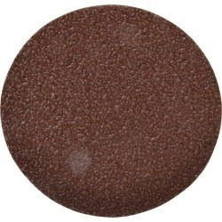 Made in USA 5 Inch Diameter, 24 Grit Aluminum Oxide PSA Disc Clot found on Bargain Bro from mscdirect.com for USD $1.22
