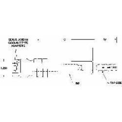Parlec 1/2 Pipe Inch Tap, Series Numertap 700, Through Coolant, T