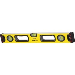 Stanley 24 Inch Long, 3 Vial, Nonmagnetic, Aluminum Box Beam Leve found on Bargain Bro from mscdirect.com for USD $35.84
