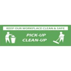 NMC Keep Our Workplace Clean & Safe - Pick-Up - Clean-Up, 120 Inc