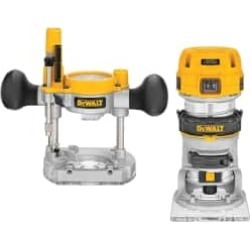 DeWALT 16,000 to 27,000 RPM, 1.25 HP, 7 Amp, Fixed and Plunge Com