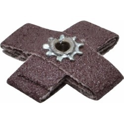 3M 60 Grit, Medium Grade, Aluminum Oxide Cross Pad 1-1/2 Inch Lon found on Bargain Bro Philippines from mscdirect.com for $2.27