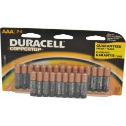 Duracell Size AAA, Alkaline, 24 Pack, General Purpose Battery But