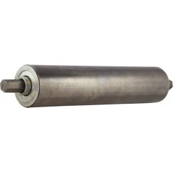 USDI 2.5x11/16x24 850lb Steel Conveyor Rollers 2.5X11-24 found on Bargain Bro India from mscdirect.com for $61.04