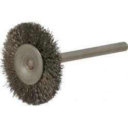 Osborn 1 Inch Brush Diameter, Crimped Stainless Steel Wheel Brush