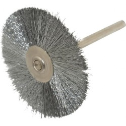 Weiler 1-1/2 Inch Brush Diameter, Crimped Steel Wheel Brush 25,00