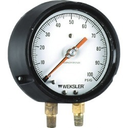Weksler Instruments 4-1/2 Inch Dial, 1/4 Inch NPT, 100-0-100 Scal found on Bargain Bro India from mscdirect.com for $1547.73