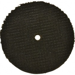 Made in USA 2 Inch Diameter, 46 Grit, Aluminum Oxide, Reinforced found on Bargain Bro Philippines from mscdirect.com for $1.86