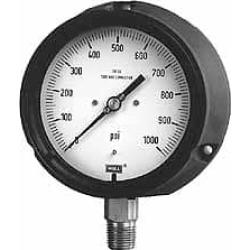 Wika 4-1/2 Inch Dial, 1/4 Inch, 0 to 60 Scale Range Pressure Gaug found on Bargain Bro from mscdirect.com for USD $112.60