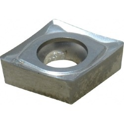 Seco CCGT432F AL KX Grade Carbide Turning Insert Uncoated, 80 Deg found on Bargain Bro from mscdirect.com for USD $15.46