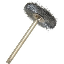 Weiler 1 Inch Brush Diameter, Crimped Steel Wheel Brush 37,000 RP