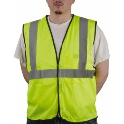 OccuNomix Cls 2 Ylw Lrg/xl Mesh Safety Vest ECO-GC-YL/XL found on Bargain Bro India from mscdirect.com for $11.93